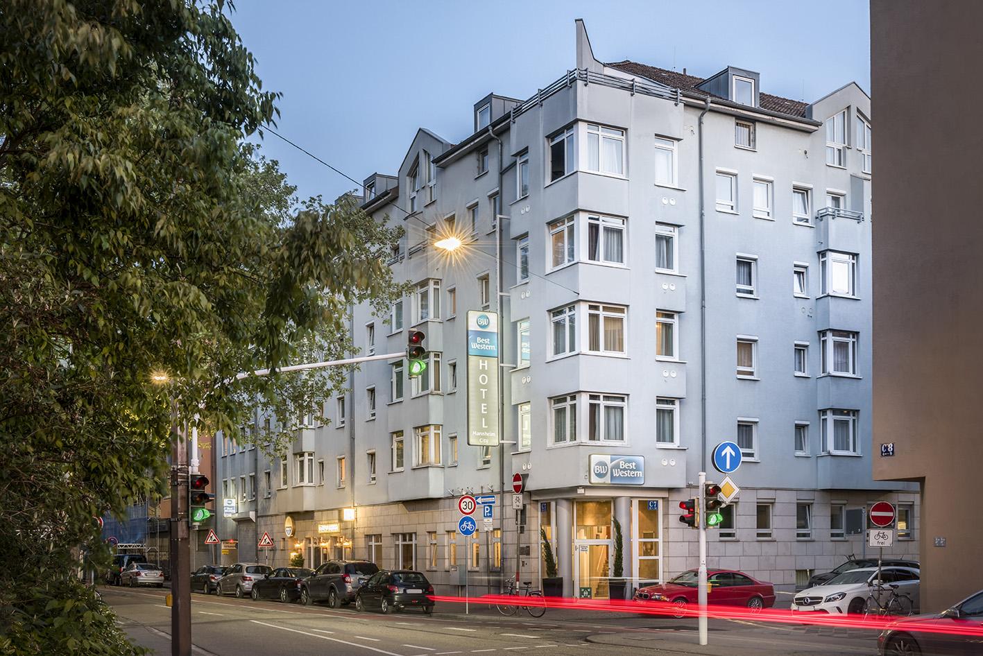 Hotel mannheim location best western hotel mannheim city for Designhotel mannheim